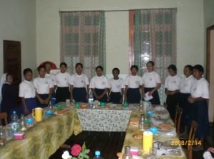 Androhibe 2008 enseignement aux postulantes a Fianarantsoa