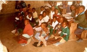 tanzanie Les enfants dans la classe
