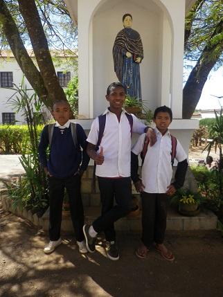 Mulan, Fabrice et Steve