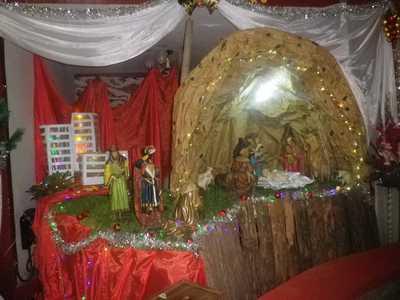 La crèche de la paroisse d'Ankadivato