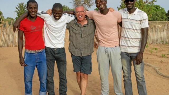 Les créateurs de l'épreuve : Malle, Mamadou, Yann Lemesle, Mas, et Souleymane