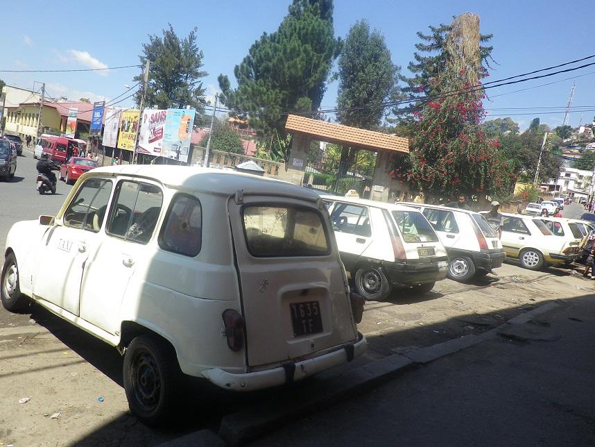 Taxis au stationnement